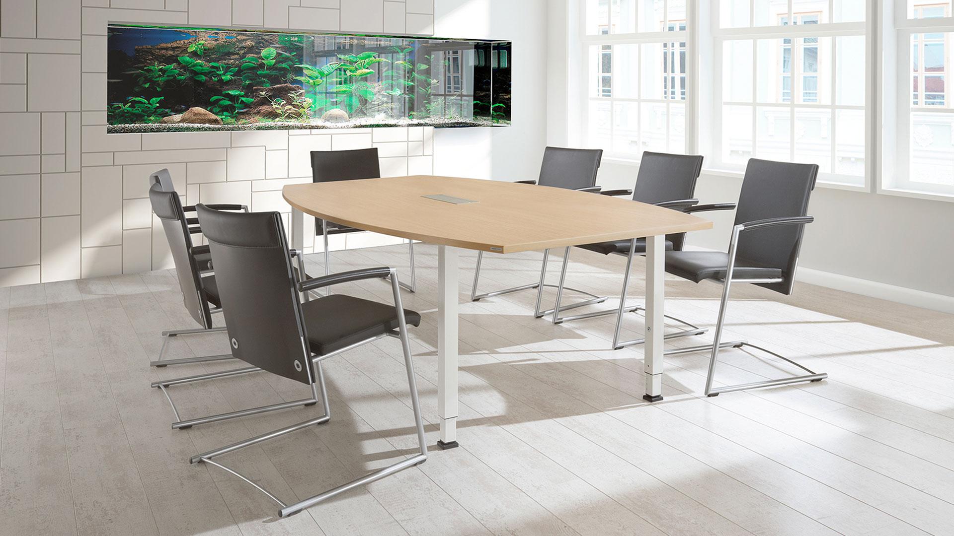 Besprechungstisch-Konferenztisch-Bootsform-ahorn-arcos-mauser-16-9_Pinie-grey