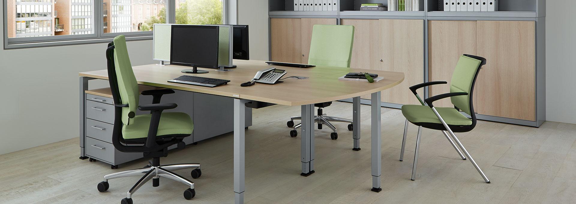 Schreibtisch-Doppelarbeitsplatz-line-container-arcos-mauser-slider