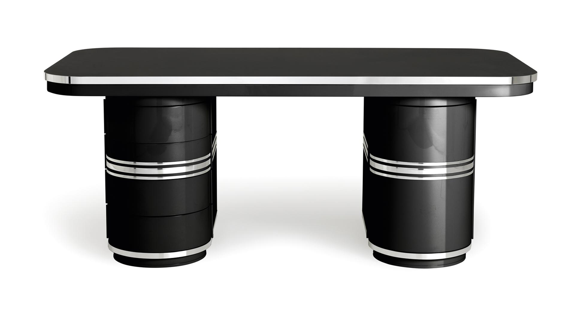 Schreibtisch-Arbeitstisch-Chefarbeitsplatz-schwarz-Tonnentisch-mauser-slider