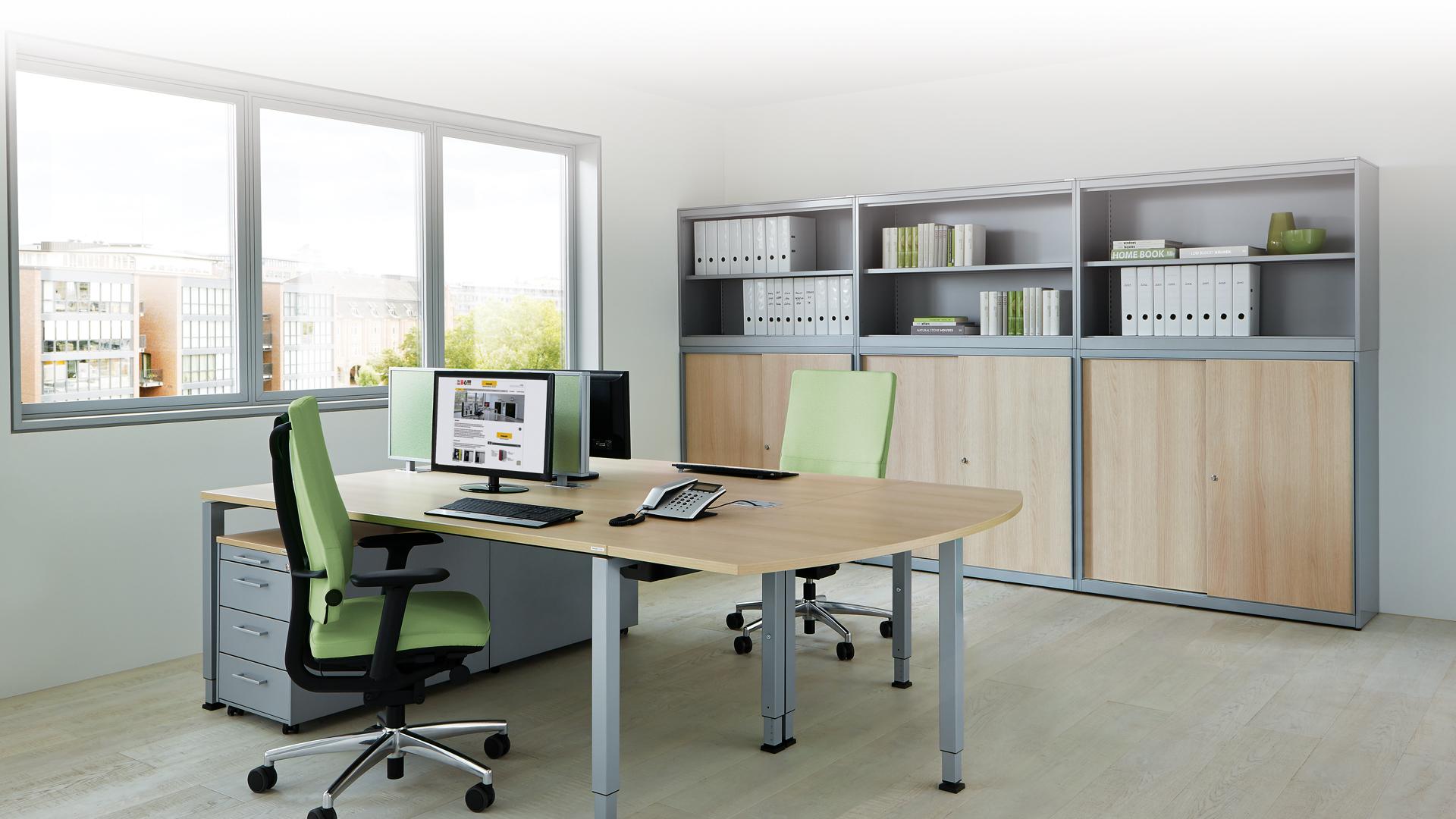 Schranksysteme-Bueroschrank-am-Arbeitsplatz-kontoro-mauser-slider