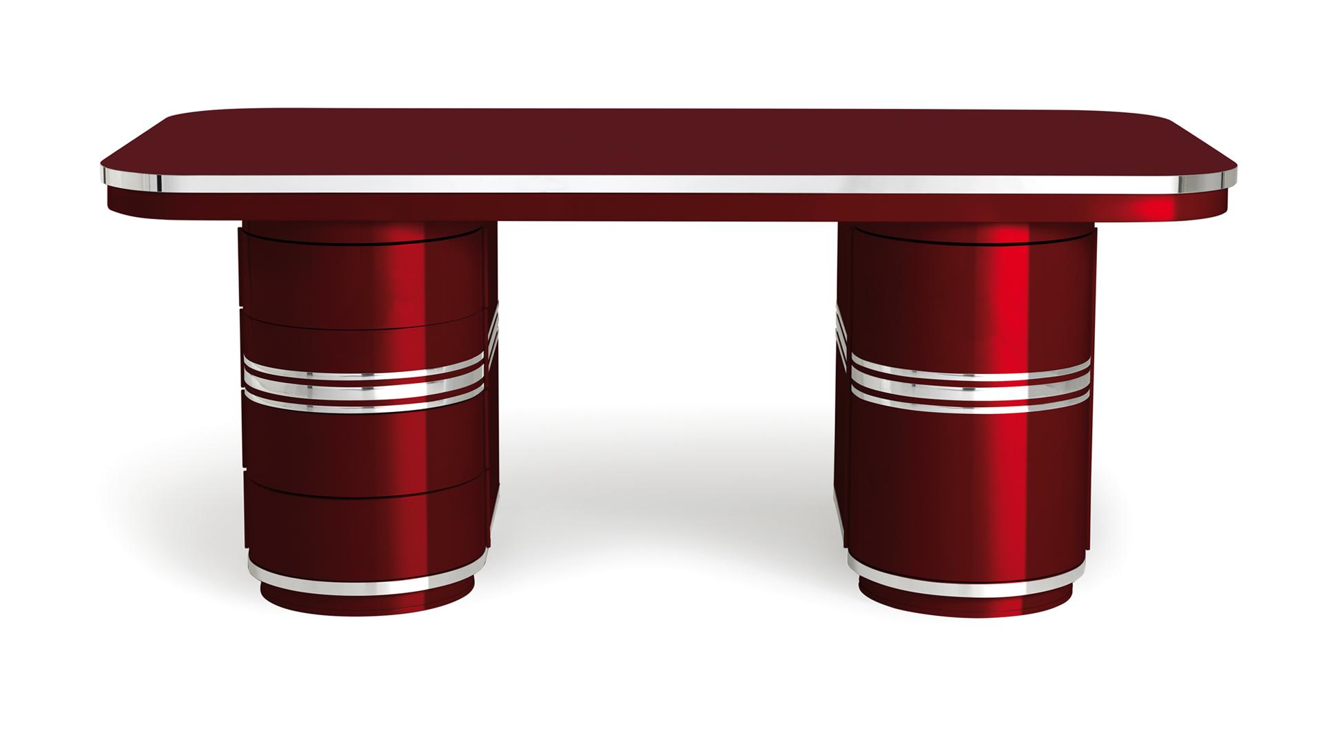 Schreibtisch-Arbeitstisch-Chefarbeitsplatz-rot-Tonnentisch-mauser-slider